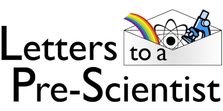 Letters to a pre-scientist logo.
